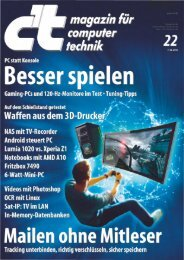 c't Magazin 2013 Heft 22 - since