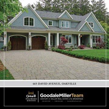 465 DaviD avenue, oakville - Oakville Real Estate