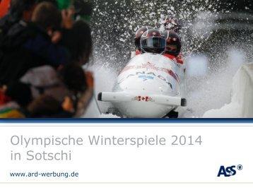 Download Olympische Winterspiele in Sotschi 2014 - ARD-Werbung ...