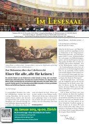 Im Lesesaal 2012-12.pdf - Elster Verlag
