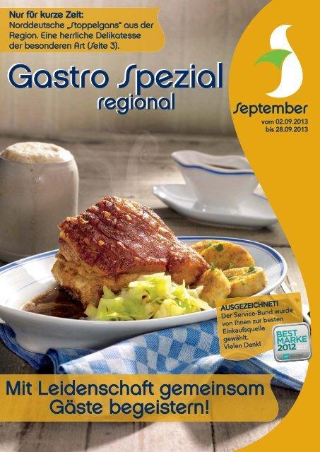 Gastro Spezial Regional - September 2013 - Recker Feinkost GmbH