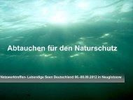Präsentation von Silke Oldorff (6,1 MB) - Global Nature Fund