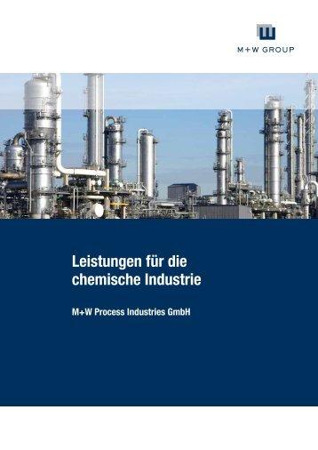 M+W Process Industries Chemie Broschüre