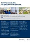 M+W Process Industries Chemie Broschüre - Seite 5