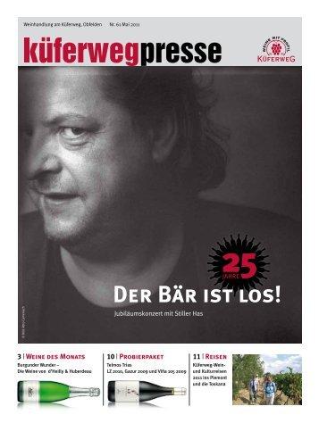 Kueferwegpresse 61 - Weinhandlung am Küferweg AG