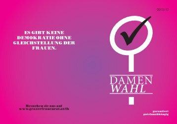 Damenwahl 2012