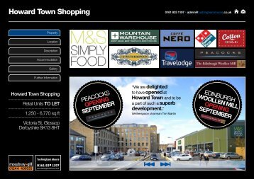 Howard Town Shopping - Shopproperty.co.uk