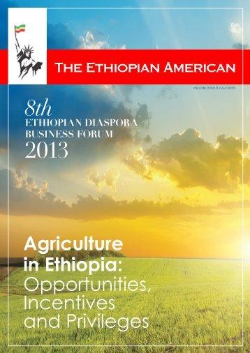 Agriculture in Ethiopia - The Ethiopian American