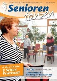 Praxisteil - Bundesverband Seniorentanz eV