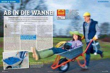 """das Testergebnis der Fachzeitschrift """"Selbst ist ... - Happy-Ant GmbH"""