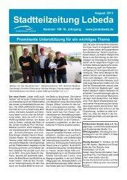 Stadtteilzeitung Lobeda