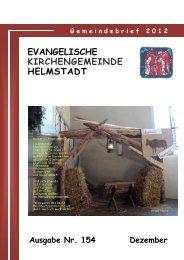 Gemeindebrief Dezember 2012 - ev-kirche-helmstadt.de