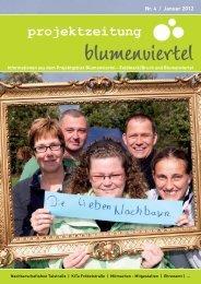 Projektzeitung Blumenviertel Ausgabe 4_V4.indd - Stadt Dinslaken