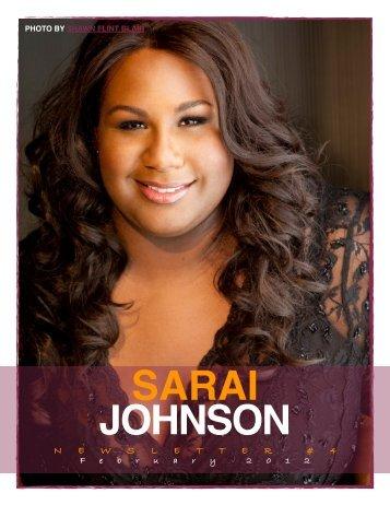 Newsletter #4 February 2012 - Sarai Johnson