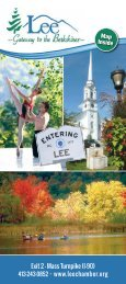 View Pdf Guide Here - Lee Chamber of Commerce