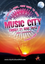 Download the Music City! Programme - City of Culture 2013