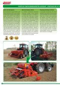 gama de semeadoras combinadas - Maschio Gaspardo - Page 6
