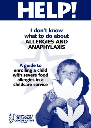 I don't know what to do about ALLERGIES AND ANAPHYLAXIS