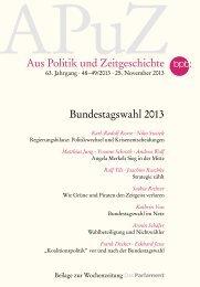 Strategie zählt. Die Bundestagswahl 2013 - APOS