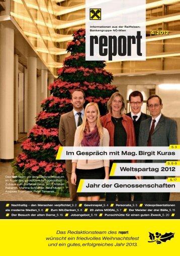 report 4-2012 - Raiffeisenbank Region St. Pölten