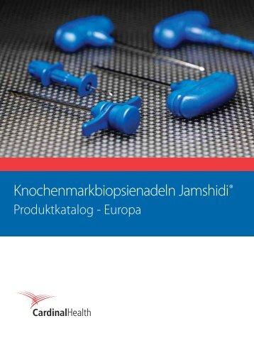 Knochenmarkbiopsienadeln Jamshidi® - Nicolai GmbH