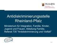 Antidiskriminierungsstelle Rheinland-Pfalz