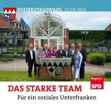 DAS STARKE TEAM - SPD-Bezirk Unterfranken