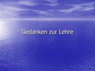 Präsentation - Archiv der Gemeinden Christi