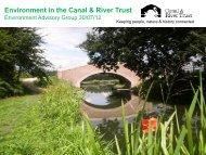 Environment Briefing - Canal & River Trust