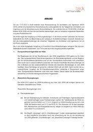 HOAI 2013 Die am 17.07.2013 in Kraft tretende neue ...
