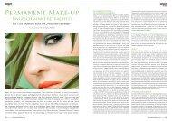 Permanent Make-up ungeschminkt b - BEFEIN