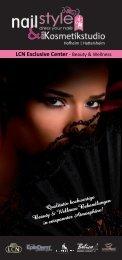 Flyer Downloaden - nailStyle - dress your nails & das Kosmetikstudio