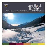 Winter 2013/2014 deutsch - Hotel Tubris