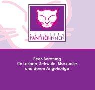 Peer-Beratung für Lesben, Schwule, Bisexuelle und deren Angehörige