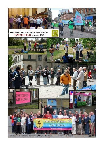 Live Adventurously - Manchester & Warrington Quakers