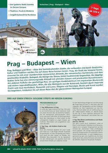 G-CZ Prag?Budapest-Wien.indd - CTS Gruppen