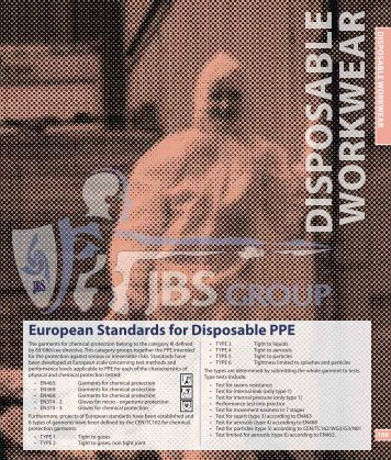 Disposable Workwear - JBS Group