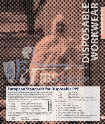 Disposable Workwear - JBS Group