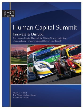 Human Capital Summit - Human Capital Institute