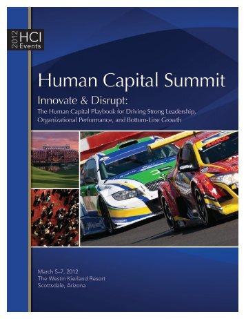 Human Capital Summit - Human Capital Institute