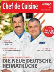 Chef de Cuisine 05 2013 - Intergast