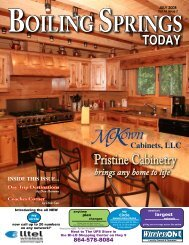 Pristine Cabinetry - Boiling Springs Today