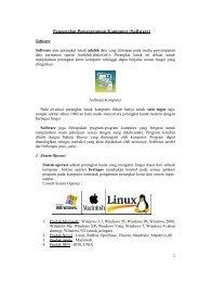 Pengenalan Pemrograman Komputer (Software) - Salahuddin bin Ali