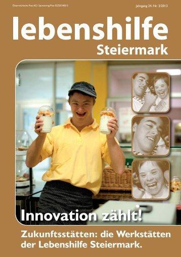 Nr. 3/2013 - Lebenshilfe Steiermark