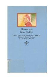 Dante Alighieri Monarquía - Pensamentos Nómadas