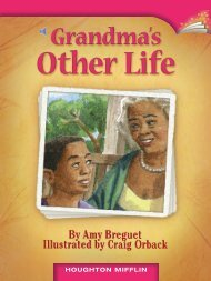Lesson 3:Grandma's Other Life