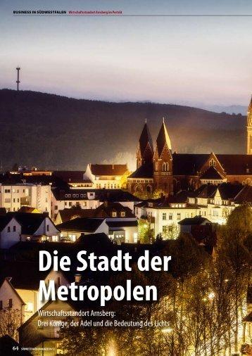 Wirtschaftsstandort Arnsberg - Südwestfalen Manager