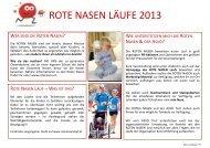 ROTE NASEN LÄUFE 2013 - Asvö Tirol