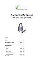 Sicheres Zuhause - Verbraucherzentrale Südtirol