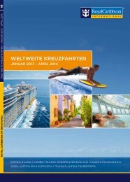 WELTWEITE KREUZFAHRTEN - Royal Caribbean International